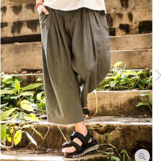 グラム(glamb)の新品セール glamb Tuck cropped pants(その他)