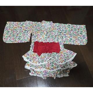ベルメゾン(ベルメゾン)の浴衣ドレス サイズ100(甚平/浴衣)