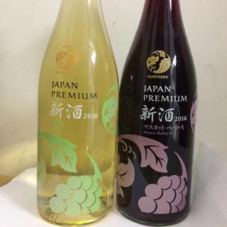 サントリー(サントリー)のサントリーJAPANPREMIUM 2016 赤白2種(ワイン)