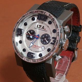 アイティーエー(I.T.A.)の◆ I.T.A. 正規品 美品 稼働品 7万 ◆ アイ ティー エー 腕時計(ラバーベルト)