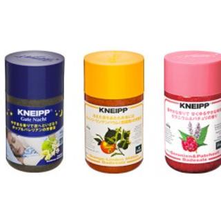 クナイプ(Kneipp)のクナイプ バスクリン3点セット(入浴剤/バスソルト)