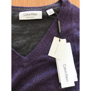 カルバンクライン(Calvin Klein)の【カルバンクライン】新品 ニットセーター  メンズ Mサイズ(ニット/セーター)