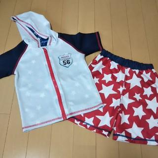 シマムラ(しまむら)の男児水着セット110(水着)
