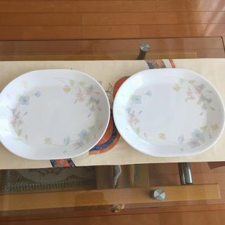 コレール(CORELLE)のコレール 皿2枚 美品(食器)