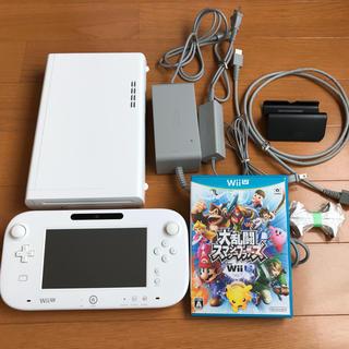 Wii U - wiiU本体セット【32GB】+大乱闘スマッシュブラザーズ