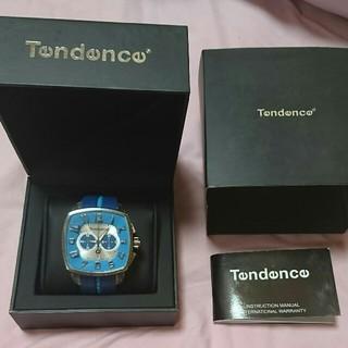 テンデンス(Tendence)の激レア■テンデンス腕時計 ガリバー スクエアーブルー(腕時計(アナログ))