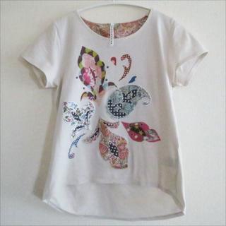 スナオクワハラ(sunaokuwahara)のスナオクワハラ 「リバティーコラボ」Tシャツ(Tシャツ(半袖/袖なし))