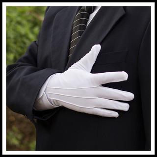 フォーマル ホテルマン 警備員 運転士 接客業などなどに♡手袋 グローブ(手袋)