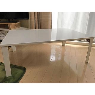 ニトリ - 座卓 折りたたみ ホワイト 引き取り限定