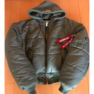 フィアオブゴッド(FEAR OF GOD)のvetements alpha bomber jacket ma-1 ヴェトモン(フライトジャケット)