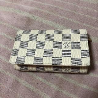 ルイヴィトン(LOUIS VUITTON)のルイヴィトン ダミエアズール 2つ折り財布(財布)