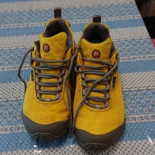メレル(MERRELL)のMERRELL登山靴 イエロー (登山用品)