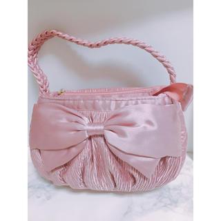 ナラヤ(NaRaYa)の新品 ナラヤ NaRaYa ピンク パーティバッグ ハンドバッグ(ハンドバッグ)