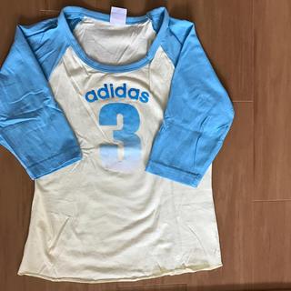 アディダス(adidas)のadidas 7部袖 Tシャツ(シャツ/ブラウス(長袖/七分))