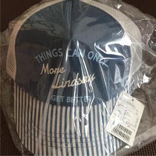リンジィ(Lindsay)のリンジィ  キャップ 新品(帽子)