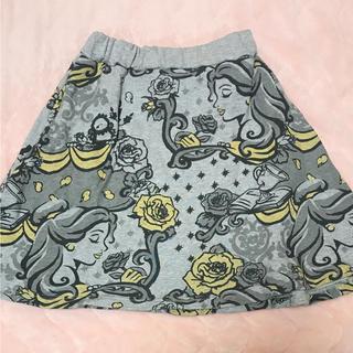 ディズニー(Disney)のディズニー  プリンセス  美女と野獣  ベル  スカート(ミニスカート)