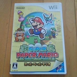 Wii - スーパーペーパーマリオ wii ウィー