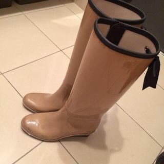 リボンレインブーツ(レインブーツ/長靴)