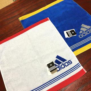 アディダス(adidas)のアディダス ハンドタオル 2点(タオル/バス用品)
