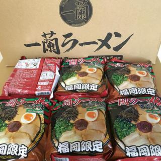 Amazon価格3480円以上 一蘭 ラーメン 5食セット 福岡店舗限定販売