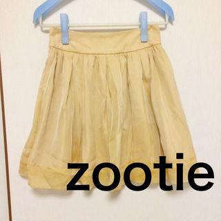 ズーティー(Zootie)の2way フレアスカート(ひざ丈スカート)