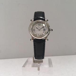 ショパール(Chopard)の美品✨ショパール ハッピースポーツ ダイヤ 腕時計 レディース(腕時計)