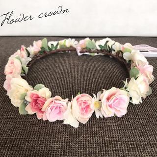 花冠(フラワークラウン・ハクレイ)(ヘアアクセサリー)