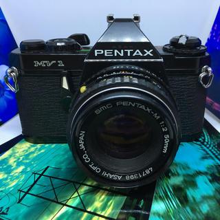 ペンタックス(PENTAX)の★土日月曜値下げ★ PENTAX mv-1 レンズセット 動作確認済み(フィルムカメラ)
