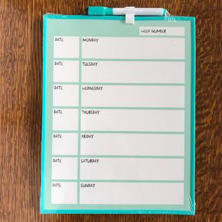 フライングタイガーコペンハーゲン(Flying Tiger Copenhagen)の新品 フライングタイガー スケジュールボード 予定表 スケジュール表(カレンダー/スケジュール)
