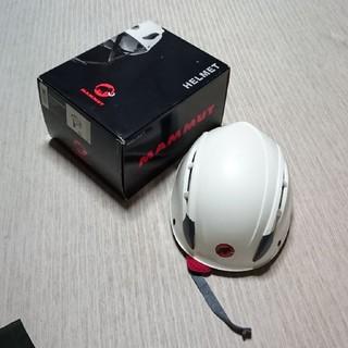 マムート(Mammut)のMAMMUT クライミング ヘルメット新品(登山用品)