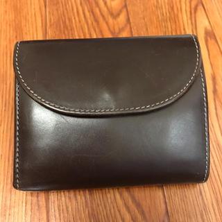 ホワイトハウスコックス(WHITEHOUSE COX)のWhitehouse Cox ミニ三つ折り財布(折り財布)