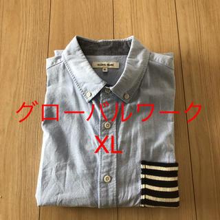 グローバルワーク(GLOBAL WORK)のグローバルワーク メンズシャツ XL(シャツ)