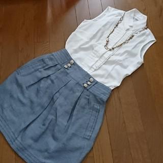 ナラカミーチェ(NARACAMICIE)のノースリーブシャツ(シャツ/ブラウス(半袖/袖なし))