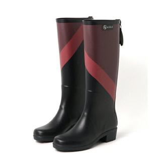 エーグル(AIGLE)のエーグル AIGLE プリント レインブーツ ラバーブーツ ミスジュリエット(レインブーツ/長靴)