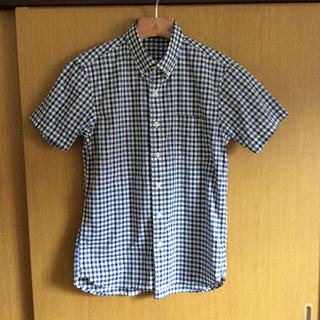 MUJI (無印良品) - チェック柄ボタンダウンシャツ