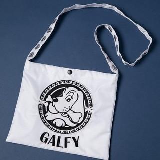 ガルフィー(GALFY)のガルフィー サコッシュ ホワイト 白 ショルダーバッグ(ショルダーバッグ)