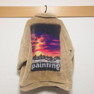 [中古]doublet hand print jacket(ダッフルコート)