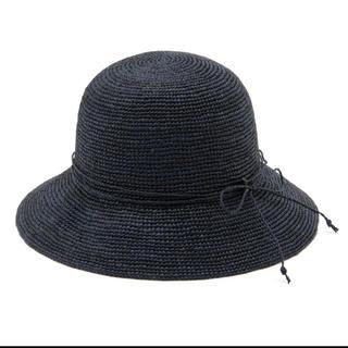 ムジルシリョウヒン(MUJI (無印良品))の無印良品 MUJI サイズ調整できるラフィアたためるキャペリン (麦わら帽子/ストローハット)