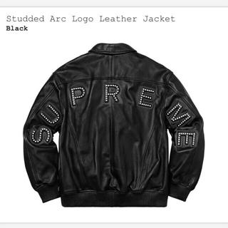 supreme (レザージャケット)