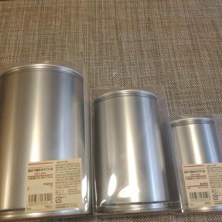 MUJI (無印良品) - 自分で詰めるギフト缶 大中小