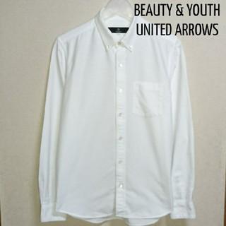 BEAUTY&YOUTH UNITED ARROWS - BEAUTY&YOUTH オックスフォード 白シャツ