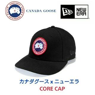 カナダグース(CANADA GOOSE)のカナダグース x ニューエラ☆CORE CAP キャップ 黒(キャップ)