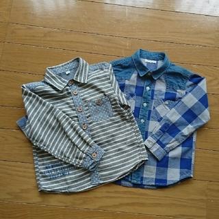 GU - 110cm  長袖シャツ2枚セット
