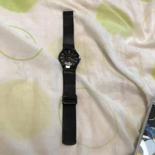 スカーゲン(SKAGEN)のSKAGEN 時計 黒(腕時計(アナログ))