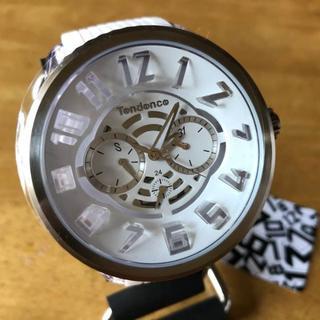 テンデンス(Tendence)の新品✨テンデンス フラッシュ クオーツ 腕時計 TY561002 ホワイト(腕時計(アナログ))