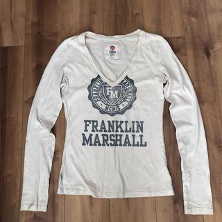 フランクリンアンドマーシャル(FRANKLIN&MARSHALL)のFRANKLIN &MARSHALL レディース sizeS(Tシャツ(長袖/七分))