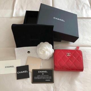 シャネル(CHANEL)のCHANELマトラッセ三折り財布(財布)