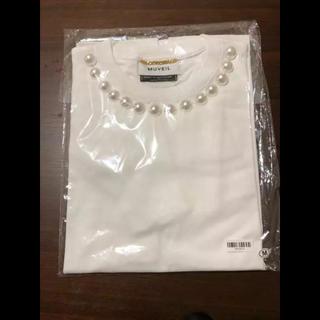 ミュベールワーク(MUVEIL WORK)のミュベール  コラボTシャツ(Tシャツ(半袖/袖なし))