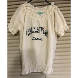 リンジィ(Lindsay)のLindsay 半袖シャツ(Tシャツ/カットソー)