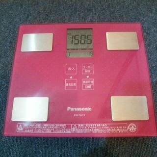 パナソニック(Panasonic)のPanasonic 体組成計 EW-FA13ピンク(体重計/体脂肪計)